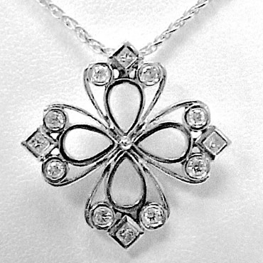 Flower Shape Pendants